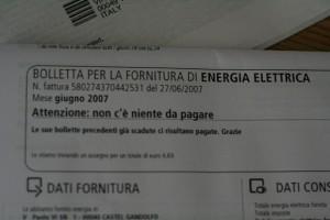 Nuove tariffe elettriche