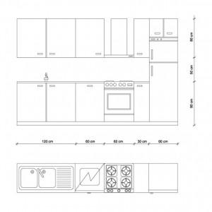 Misure cucina archivi guida per casa - Misure cucine mondo convenienza ...