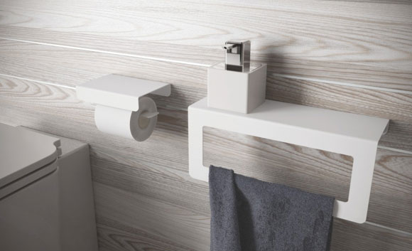 Accessori bagno Compact di Etrusca (photo credit: etrusca.it)