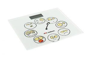 Bilancia pesapersone Emoticons di Meliconi (photo credit www.meliconi.com)