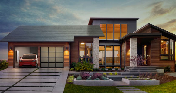 Tegole fotovoltaiche Tesla