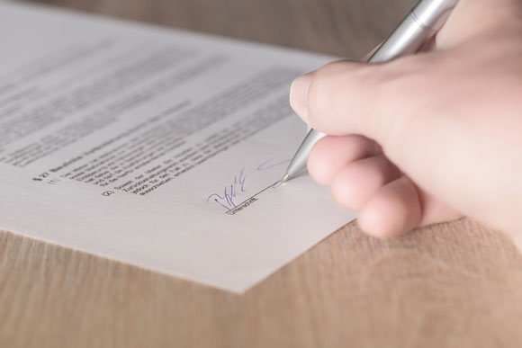 Firma del compromesso