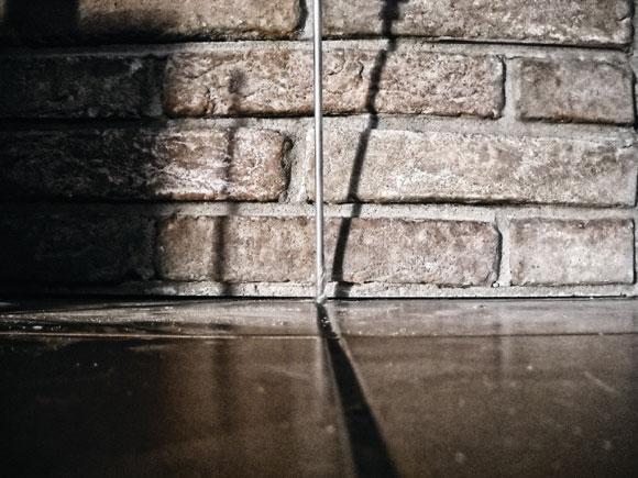 Consolidamento con resine Geosec per crepe nei muri