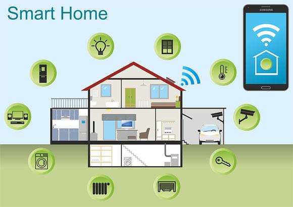 Dispositivi domestici intelligenti (photo credit pixabay.com)