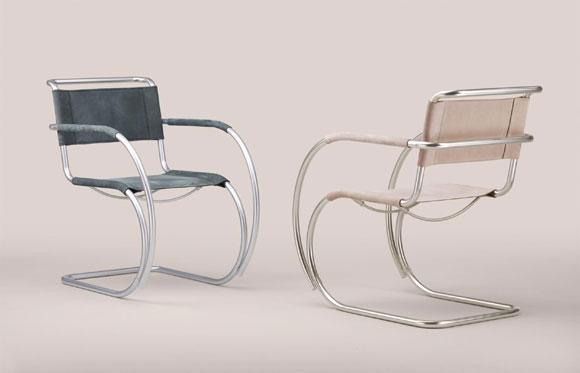 Nuove versioni della sedia cantilever S 533