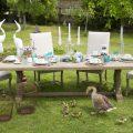 Sedie e tavoli da giardino