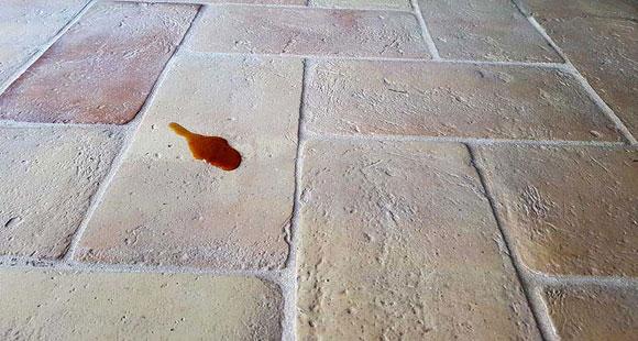 Trattamento dei pavimenti in cotto