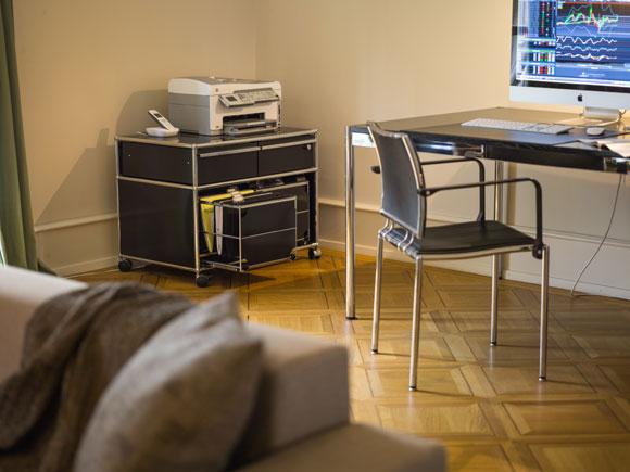 USM, sistema modulare per home working