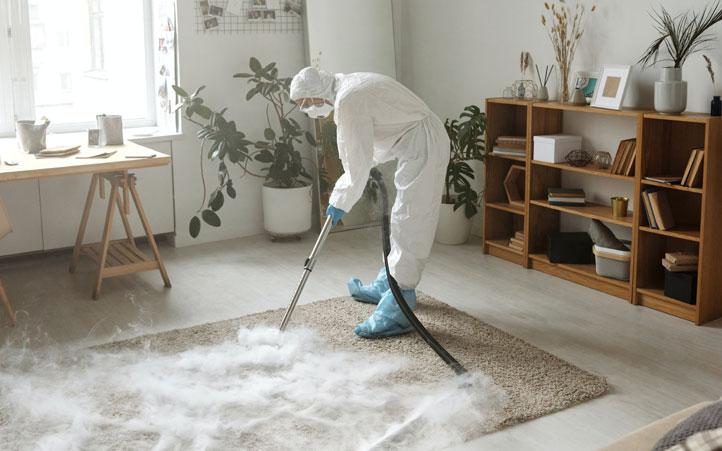 Sanificazione degli ambienti domestici