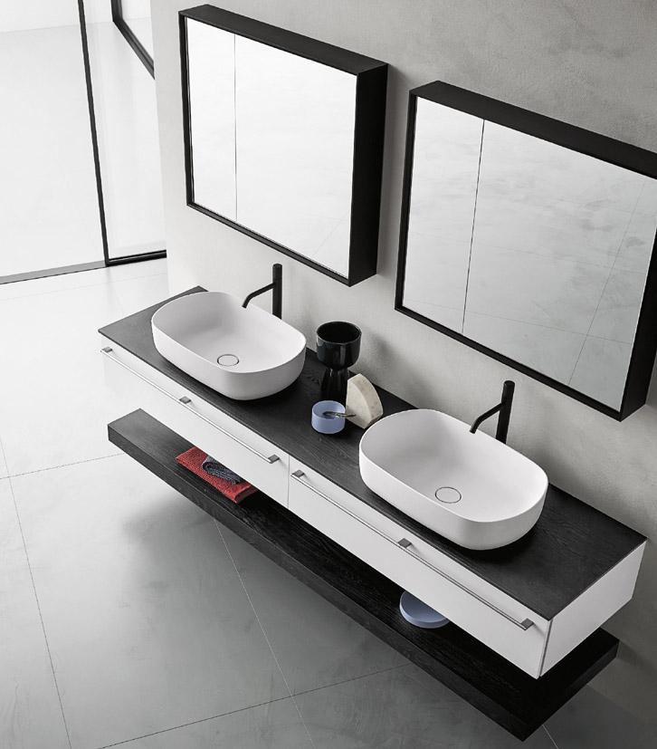 Doppio lavabo Teso di Arbi (photo credit Studio Roscio)