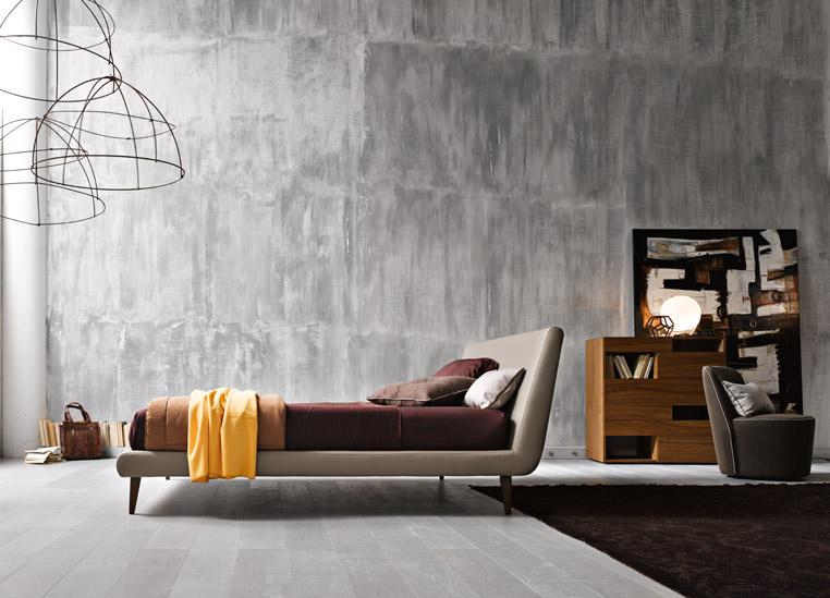Letto Omar, collezione Atelier - La Casa Moderna (photo credit Ufficio Stampa Clara Buoncristiani)